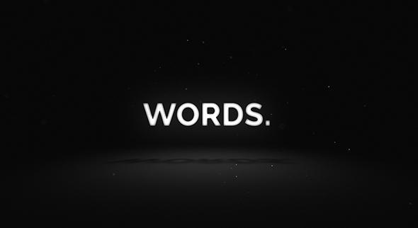 Words - Media Opener