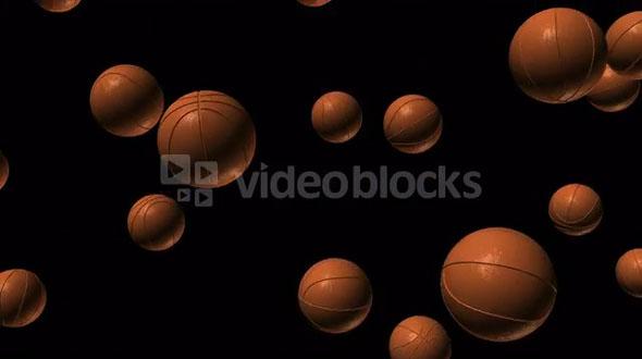 falling basketball