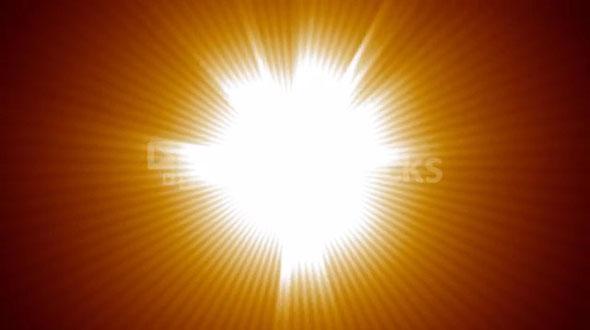 Light Burst from Center