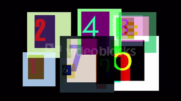 Photoshop Numbers 3