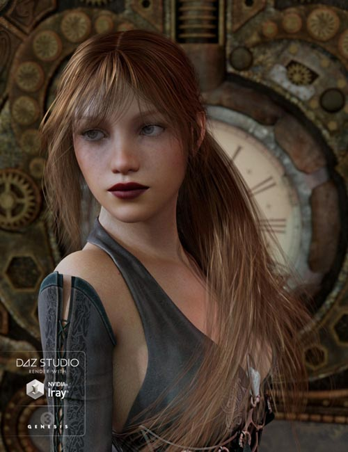 Dolly Changeable Hair for Genesis 3 Female(s)