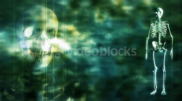 Skeleton Grunge