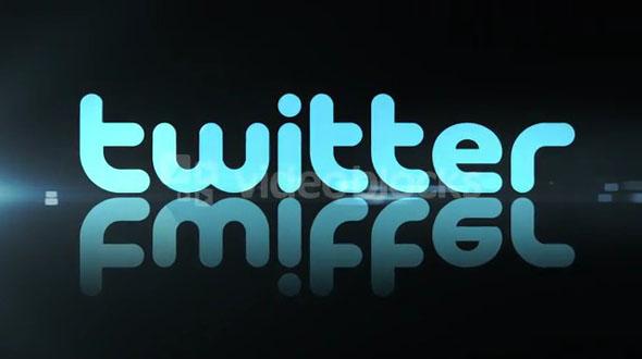 Twitter Reflecting Logo
