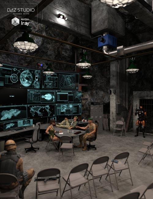 Deep Underground Command Center