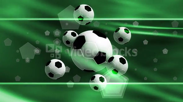 Soccer And Shapes Banner