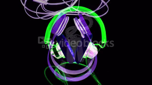 Shifting Retro Headphones