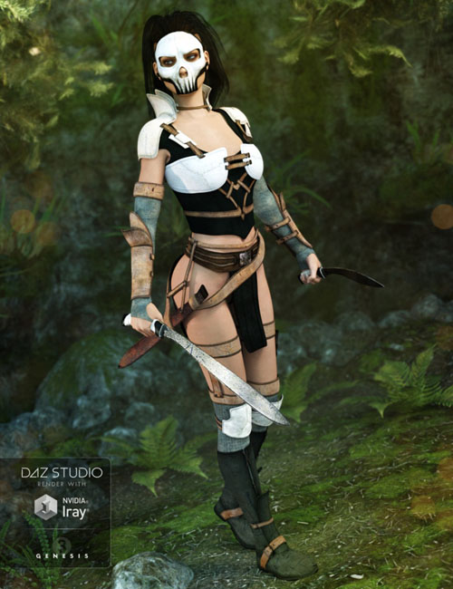 Rogue Ranger Outfit for Genesis 3 Female(s)