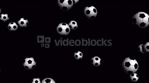 falling soccer ball