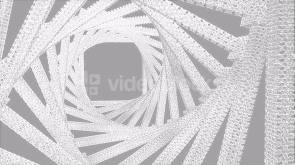 DNA Spiral Animation