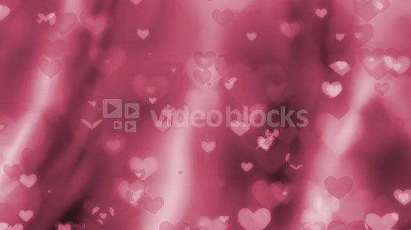 Floating Pink Hearts