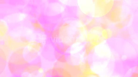 Pink Circles of Light