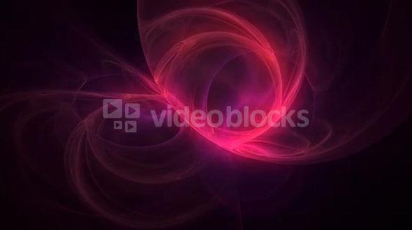 Pink Swirly Circle Motion Background