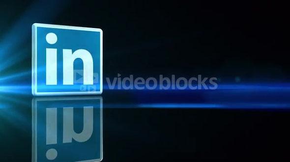 Rotating LinkedIN Icon
