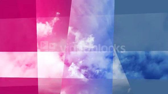 Fractal Cloudy Sky