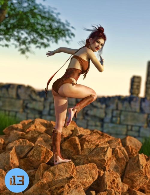 i13 Fantasy Pose Collection for the Genesis 3 Female(s)