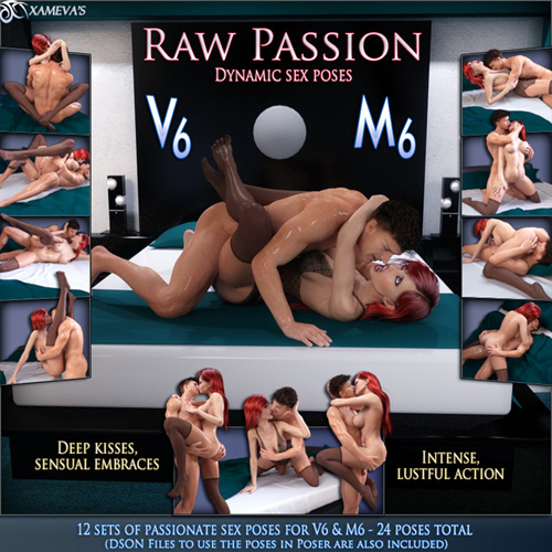 Raw Passion - Sex Poses For V6 And M6