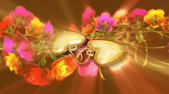 Beauty of Gold Heart