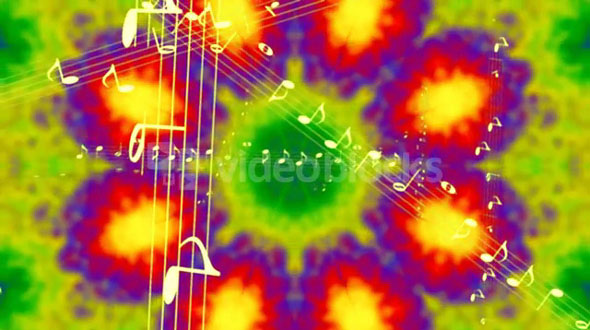 Tie Die Kaleidoscope Music