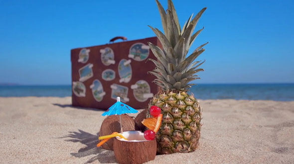 The Retro Suitcase - Holiday & Travel Promotion