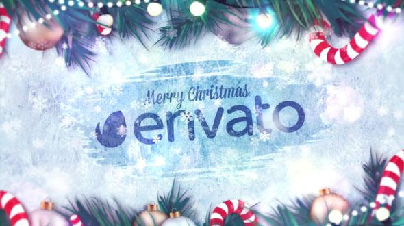 Winter Holidays Logo Reveal