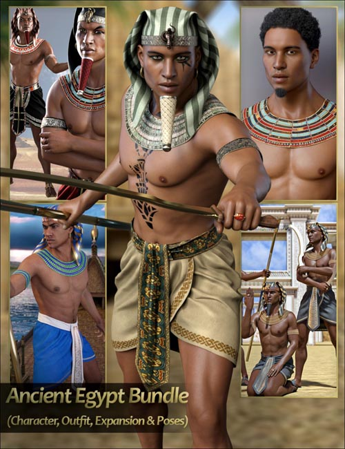 Ancient Egypt Bundle – Character, Outfit, Expansion and Poses
