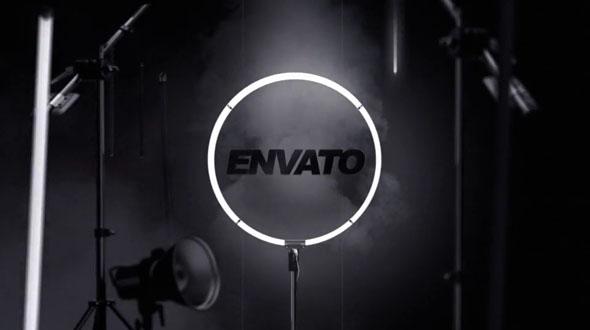 Elegant Lightbulb Logo Reveal