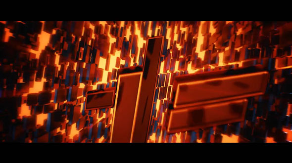 Electro - Electric Title Sequence + 16 Lighting Elements