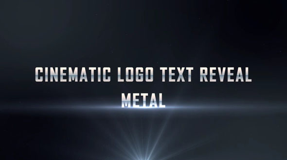 Cinematic Logo Text Reveal