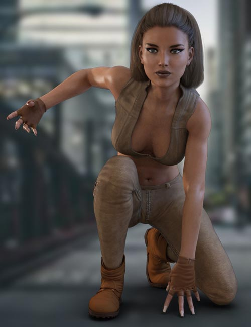 X-Fashion Reckless Outfit for Genesis 3 Female(s)