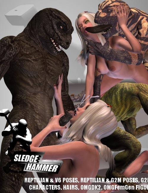 OMG Reptilian Attack 1 for G2