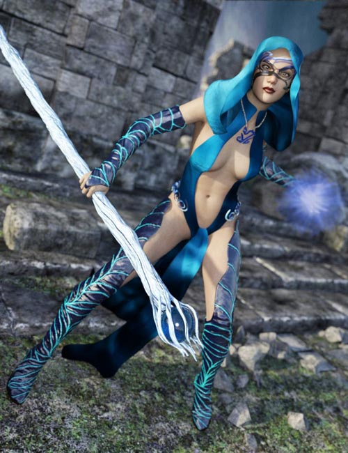 Elementalist Witch for Genesis 3 Female(s)