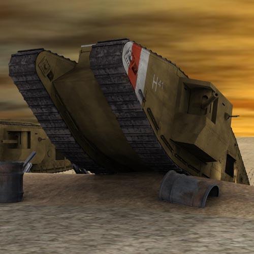MKV Male Tank for Poser