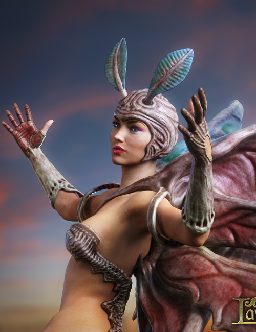 Biosuit Butterfly for Genesis 3 Female