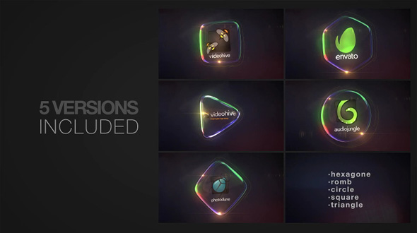 Glass Logo Reveal Pack