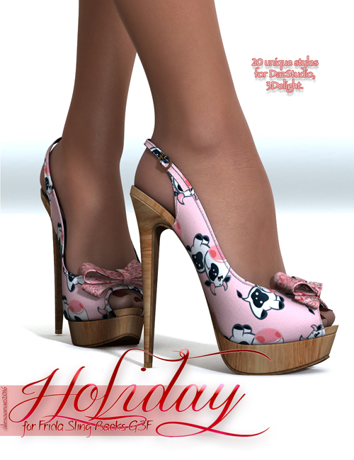 Holiday for Frida Sling Backs G3F