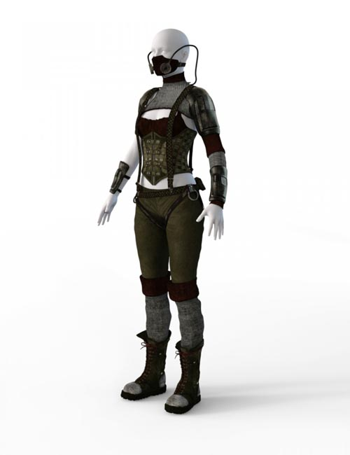 Last Light Outfit for Genesis 2 Female(s)