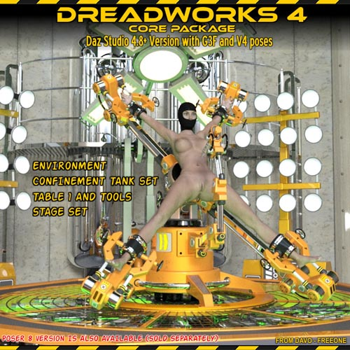Dreadworks 4 Core Pack DAZ STUDIO VERSION