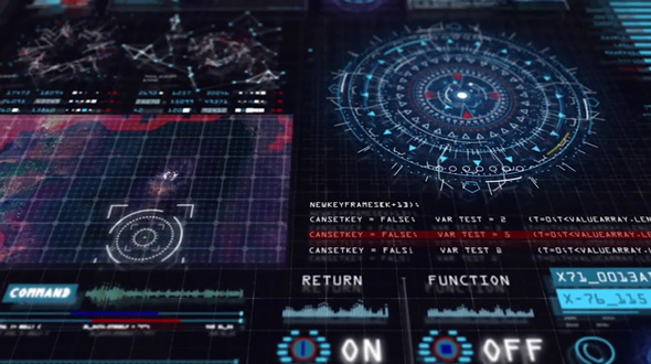 Sci-fi Interface HUD