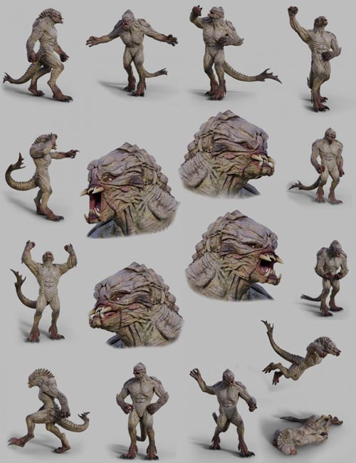 Res Mortifera Poses and Expressions Pack