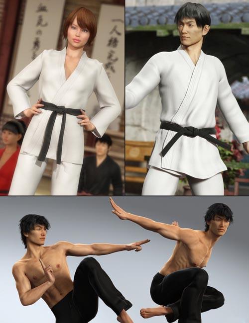 Lee 6 Karate Bundle