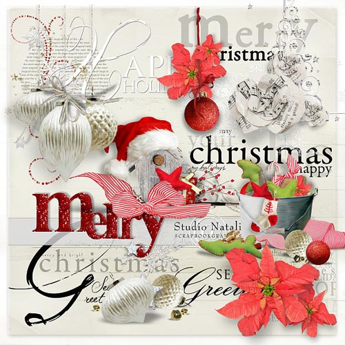 a Very Merry overlays by Natali