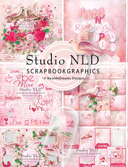 Pink'N'Roses Collection by Newlifedreams