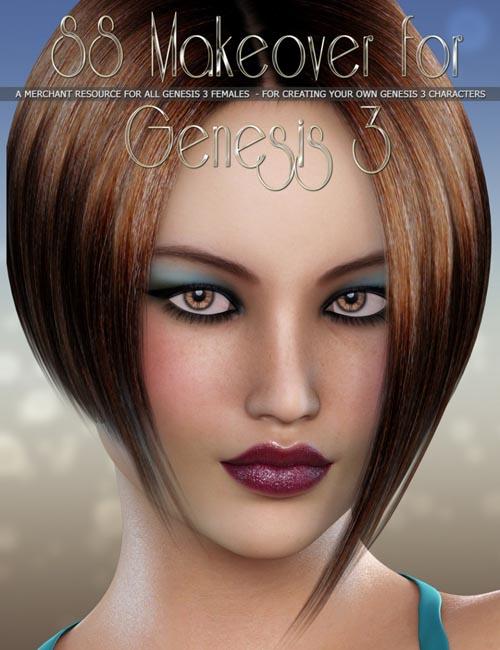 SS Makeover Merchant Resource for Genesis 3 Figures