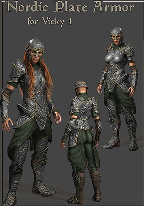 Nordic Armor for Vicky 4