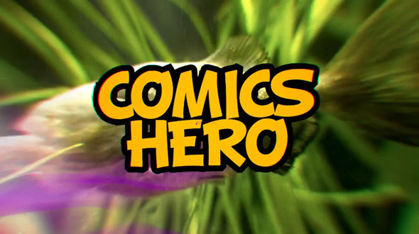 Comics Hero (Broadcast Pack)