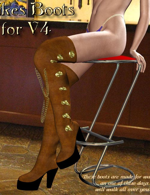 V4 - Spikes Boots