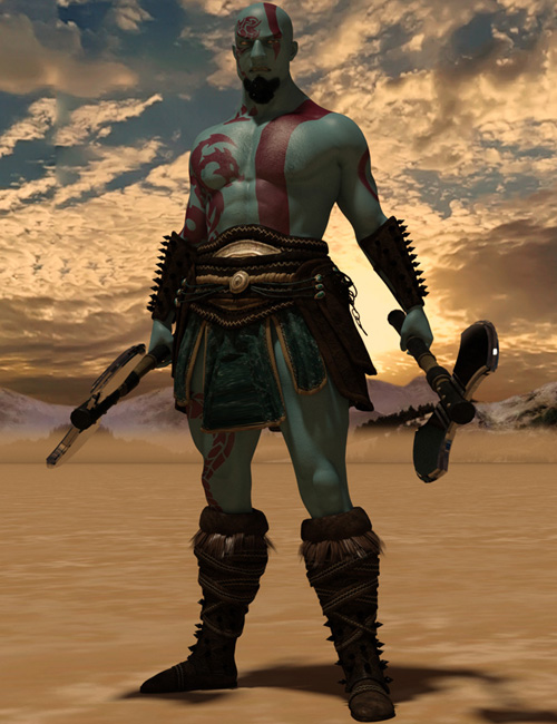 Warrior God For Genesis 3 Male
