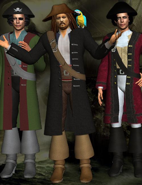 G5 Cloth Caribbean Pirates