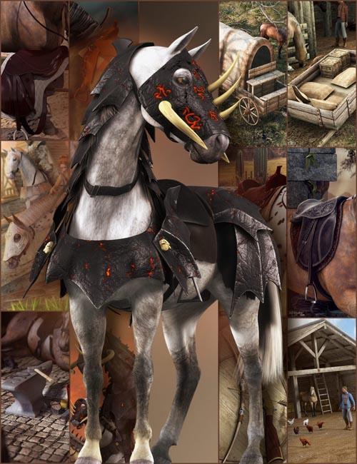 DAZ Horse 2 Pro Bundle [iray update]