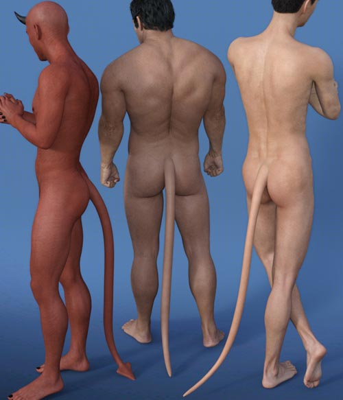 EasyPose Tail For Genesis 3 Male(s)